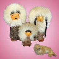 Eskimo Family of Dolls, Souvenir