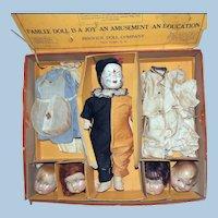 Berwick Famlee Doll 5 Head Set