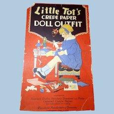Dennisons Crepe Paper Articulated Paper Doll Set