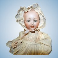 Cabinet sized Hertel & Schwab 151 Character Baby Doll