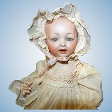 Cabinet sized Hertel & Schwab 151 Character Baby Doll