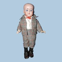 Cabinet Sized DeFuisseaux Character Child Doll