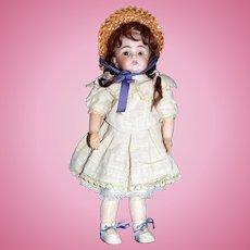 Lovely Cabinet Sized Kestner 143 Child Doll