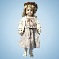 Adorable Cabinet Sized Heinrich Handwerck Doll