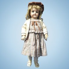 Adorable Cabinet Sized Heinrich Handwerck Doll