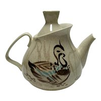 Red Wing Bob White Teapot