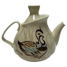 Red Wing Bob White Teapot