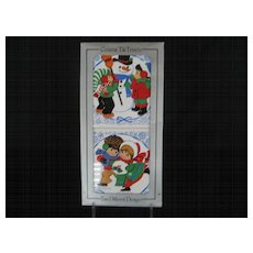 Set of 2 Ceramic Tile Christmas Trivets - Jasco