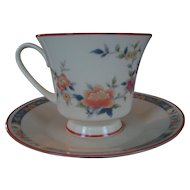 "Noritake ""China Song"" Cup and Saucer - 5 Available"