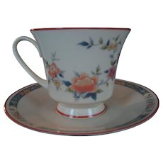 """Noritake """"China Song"""" Cup and Saucer - 5 Available"""