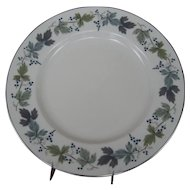 Royal Doulton Burgundy Dinner Plate - 4 Available