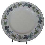 Royal Doulton Burgundy Dinner Plate - 4 Available