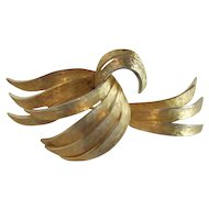 Goldtone Alan J. Goldtone Brooch/Pin