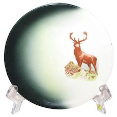 """Harker Pottery """"Stag"""" Plate"""