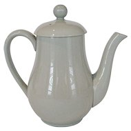"Spode ""Flemish Green"" Coffee Pot - England"