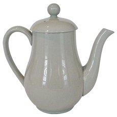 "Spode ""Flemish Green"" Coffee Pot - England"