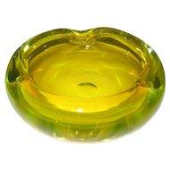 Murano Yellow Bowl/Ashtray