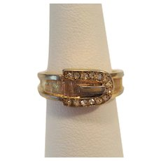 Avon Belt Look Ring