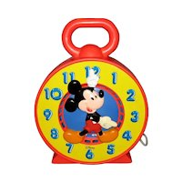 Disney Mattel See N' Say Clock - 1981