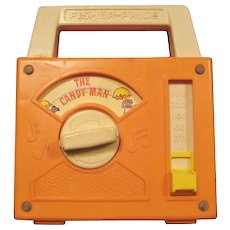 Fisher Price Toy Radio - Candy Man