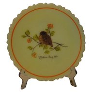 Fenton Art Glass 1980 Mother's Day Plate