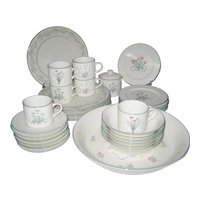 33 Piece Set Certified International Woodbine Meadows Dinnerware