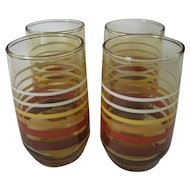 Set of 4 Anchor Hocking Juice Glasses