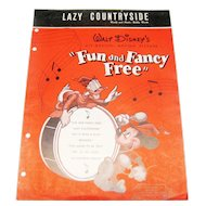Lazy Countryside Sheet Music - Disney
