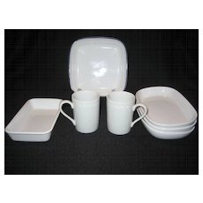 7 Pieces Of Airline Dishes - Various Airlines