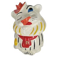 Winking Lion Cookie Jar - Belmont Pottery