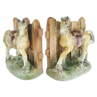 Horse Bookends