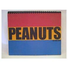 Peanuts 1972 Date Book