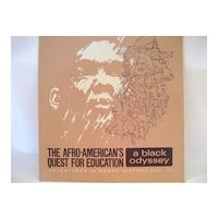 Adventures In Negro History, Vol. III - Record Album
