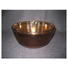 Fire King Amber Mixing Bowl