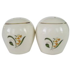 Edwin Knowles Forsythia Pattern Salt and Pepper Shakers