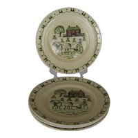 Metlox Homestead Provencial Dinner Plates - 4 Available
