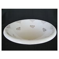 Large Knowles, Taylor, Knowles Cornell Wash Bowl