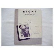 Jackie Wilson Sheet Music - Night