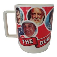 Plastic Dukes of Hazzard Mug