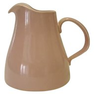 Pink USA Pottery Pitcher - Ice Lip