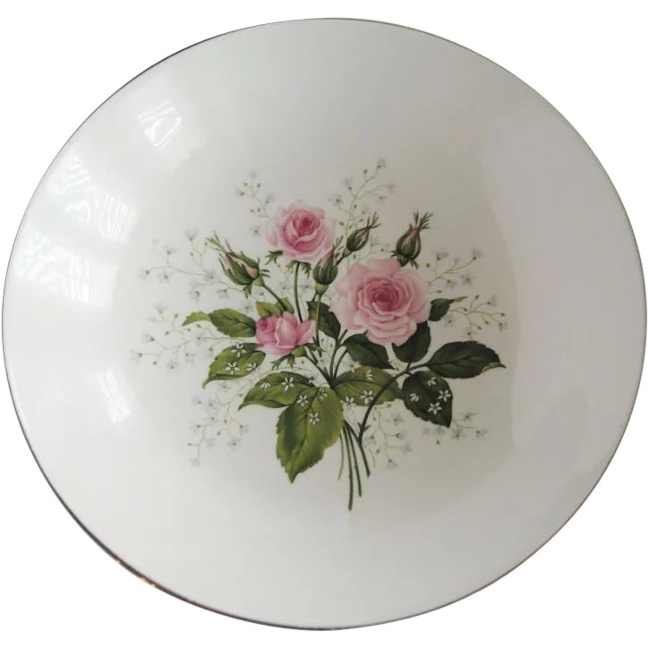 Royal China Queen S Rose 9 5 8 Quot Round Serving Bowl The