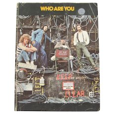 The Who Songbook - Who Are You - 1978