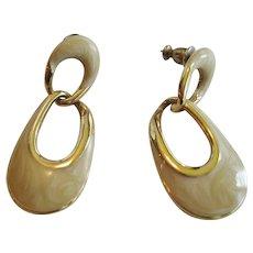 Napier Door Knocker Pierced Earrings