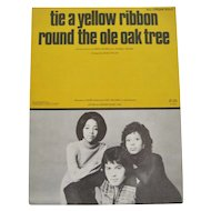 Tie A Yellow Ribbon Round The Ole Oak Tree - Sheet Music