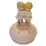 "Enesco ""True Love"" Music Box"