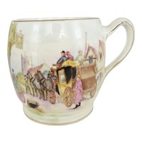 "Royal Winton Grimwades Hand Painted ""Happy Days"" Mug"