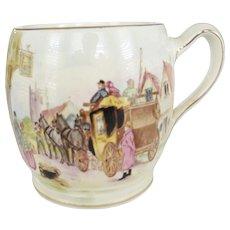 "Royal Winton Grimwades Hand Painted ""Happy Days"" Mug"