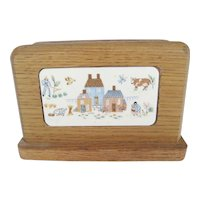 International Heartland Wooden Napkin Holder
