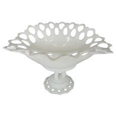 Westmoreland Doric Footed Bowl or Compote
