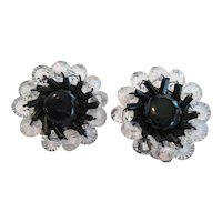Pair of W. Germany Clip-On Earrings